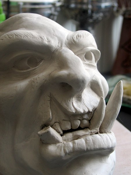 sculpture orc